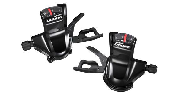 Shimano Deore SL-T610 schakelhendel paar 3x10-speed zwart
